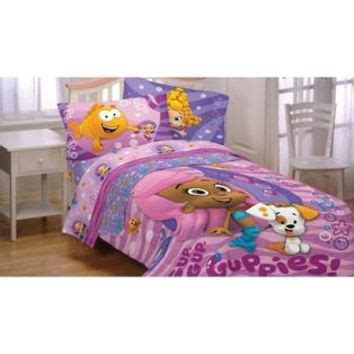 Bubble Guppies Fun Twin Bedding Set 4pc From Sears Guppies Bedding