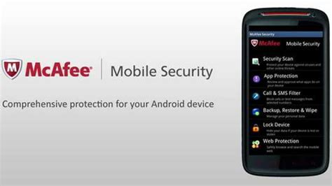 mobile mcafee security 5 best security apps for your smartphone skytechgeek