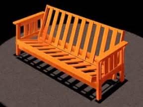 Futon Bed Frame Plans Futon Bed Plans Plans Free