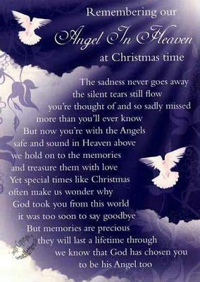 christmas sayings  loved   heaven life inspiration quotes  angel  heaven