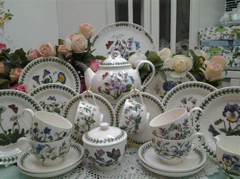 Portmeirion Botanic Garden Tea Set Portmeirion With Garden Portmeirion Botanic Garden Tea Set