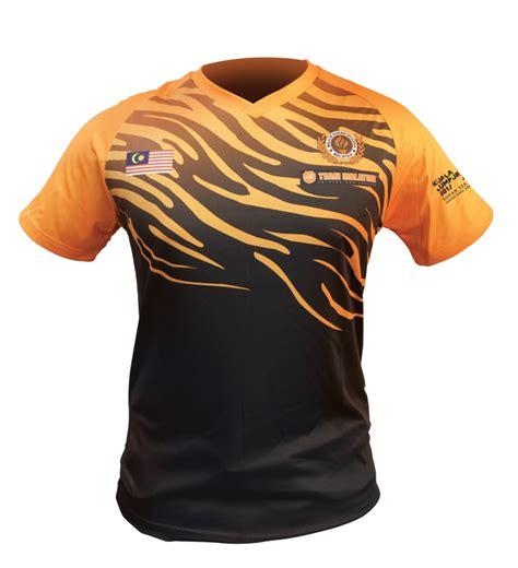 Tshirt Baju kl2017 team malaysia tshirt team malaysia