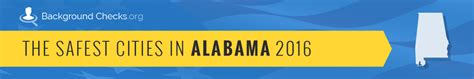 alabama background check the safest cities in alabama in 2016 backgroundchecks org