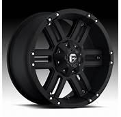 Fuel Off Road Wheels Gauge  18 Inch 18x90 Black Rims