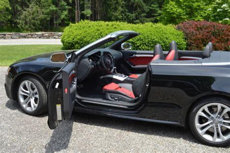 audi convertible interior audi s5 convertible black with and black interior