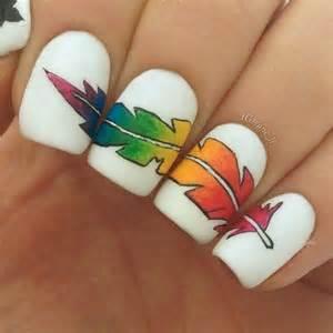 creative feather nail art designs hative