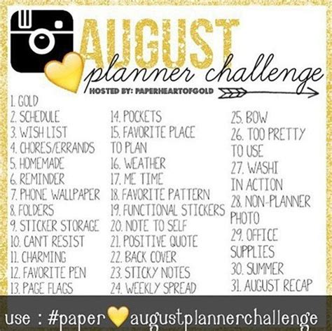 instagram august challenge august challenges instagram and reading girlxoxo