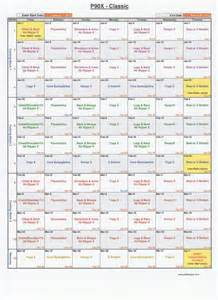 P90x Spreadsheet by P90x Workout Schedule Excel Spreadsheet Eoua