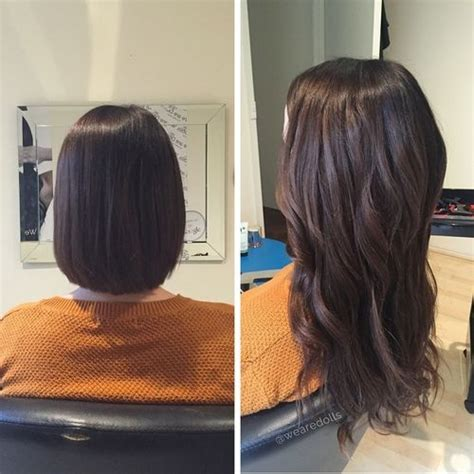 hairstyles layered with tape in extensons 47 best images about hair extensions by we are dolls on