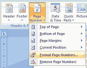 cara membuat angka halaman di word 2007 cara membuat halaman romawi dan angka dalam satu file di