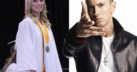 Lepaparazzi News Update Eminem And Now Engaged by Eminem S Hailie Graduates High School With