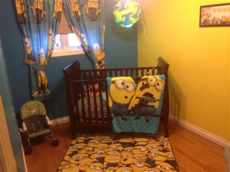 minion crib bedding the 25 best ideas about minion nursery on pinterest
