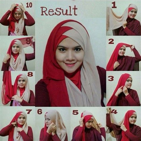 hijab styles step  step style arena hijab