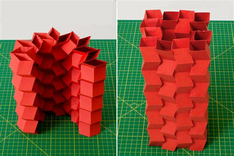 What Makes Up Paper - paper make stiff origami structures