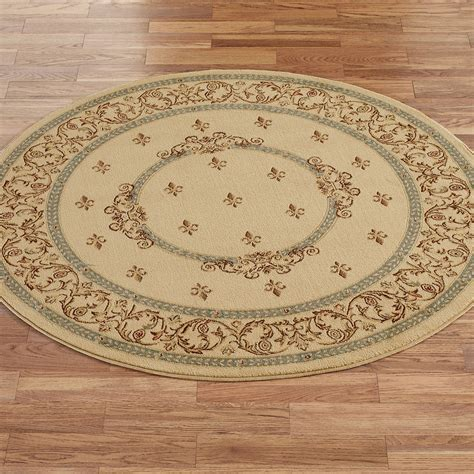 round accent rug monarch medallion round area rugs