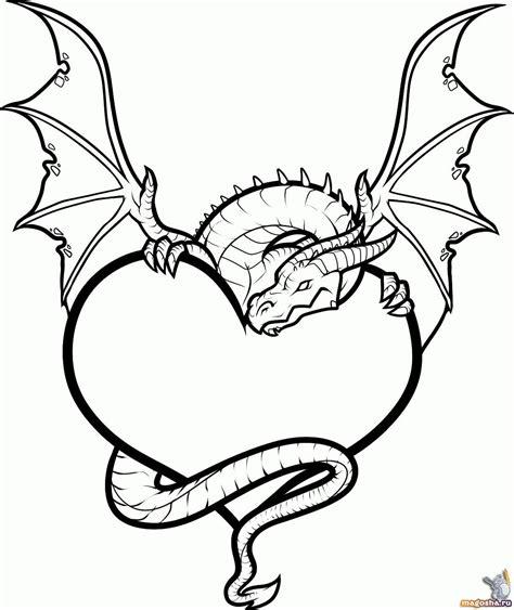 complex heart coloring page как рисовать тату сердце и дракона поэтапно gt gt библиотека