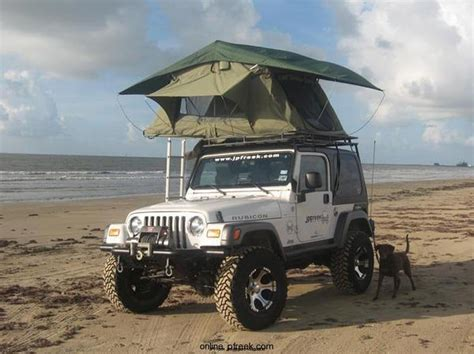 Jeep Rack Tent by Garvin Wilderness Expedition Rack For Jeep Wranglers
