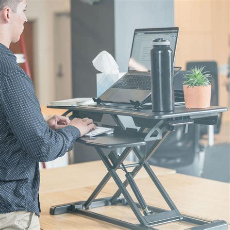 raise desk to standing height rise x light standing desk stand up desk height