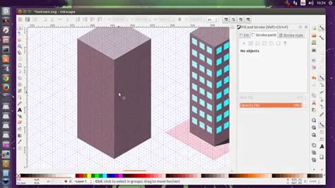 vector building tutorial inkscape isometric office building tutorial youtube