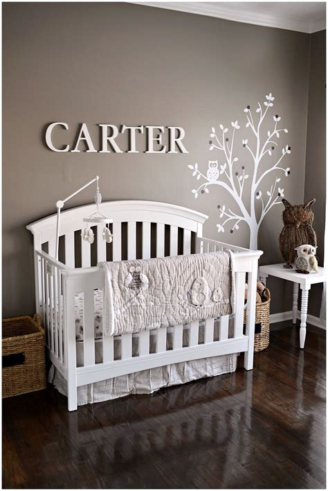 neutral nursery baby rooms