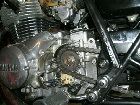 Switch Netral Zr leak from clutch rod seal yamaha xs400 forum