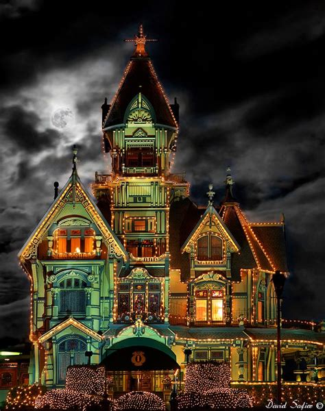 the carson mansion is a large victorian house located in