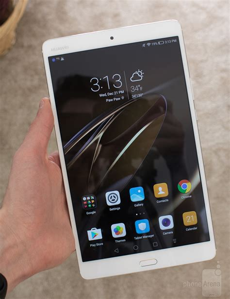 huawei mediapad m3 review phonearena