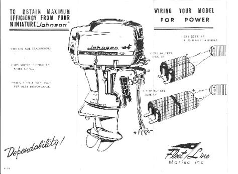 wiring diagram for a 1962 johnson outboard 40 hp 60 hp
