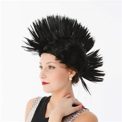 mohawk with hairpiece mohawk wig ac50