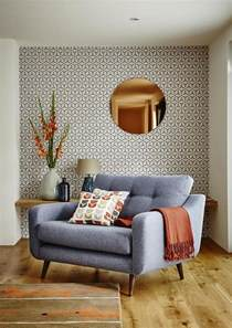 Patterned Chairs Living Room Design Ideas Decorating With Retro Wallpaper 32 Eye Catchy Ideas