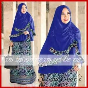 Baju Batik Djabi gamis batik selena 2 y1015