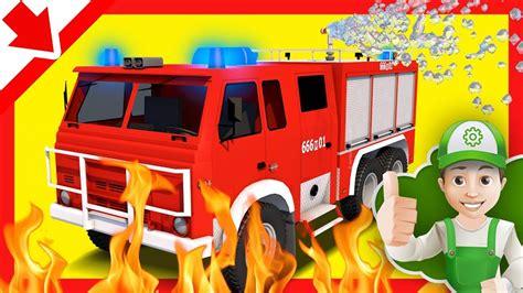 pemadam mobil kebakaran anak pemadam api kartun anak