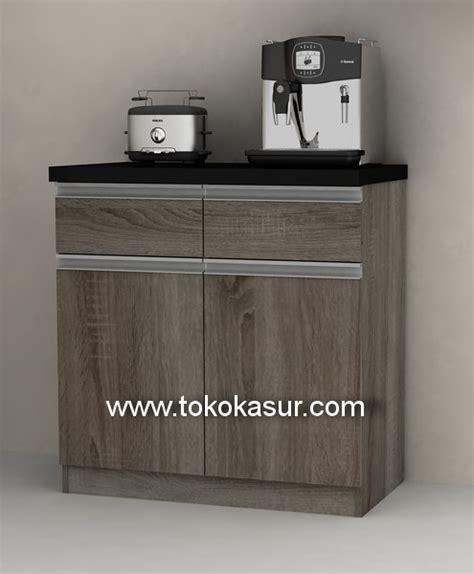 Lemari Kitchen 3 Pintu Kaca Gantung kitchen set murah harga kitchen set lemari dapur