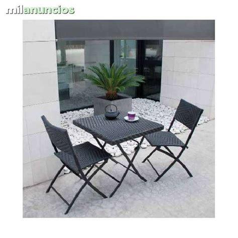 sillas y mesas exterior mil anuncios sillas exterior y mesas jard 237 n terraza