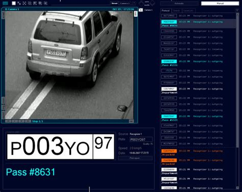license plate recognition license plate recognition by high resolution cameras gets
