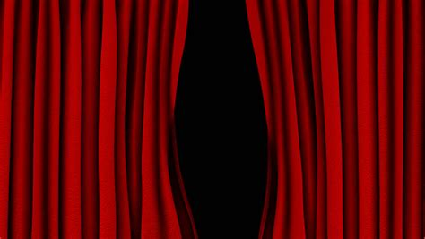 opening the curtain curtains opening and closing stage theater cinema green