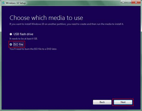 install windows 10 media how to create a windows 10 8 7 installation media with