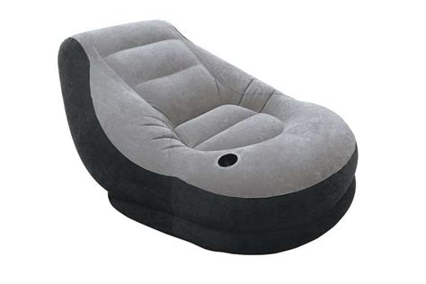 intex inflatable lounge chair with ottoman intex inflatable ultra lounge chair and ottoman set