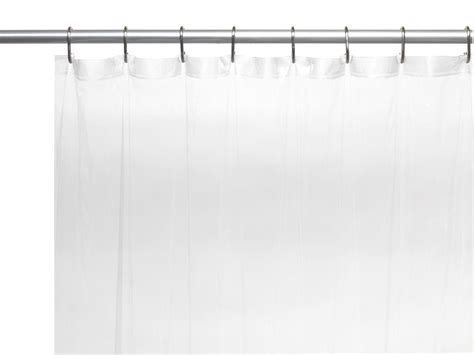 extra wide shower curtain liner 92 carnation home fashions inc 5 gauge 78 quot extra long