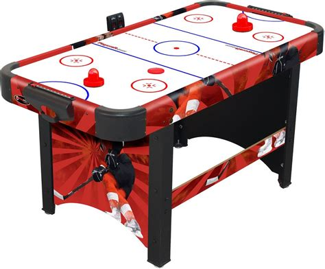 60 air hockey table 60 quot playcraft sport shoot out air hockey table