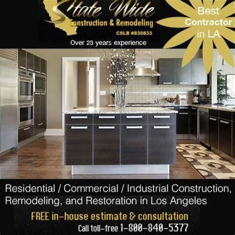 state wide construction remodeling los angeles