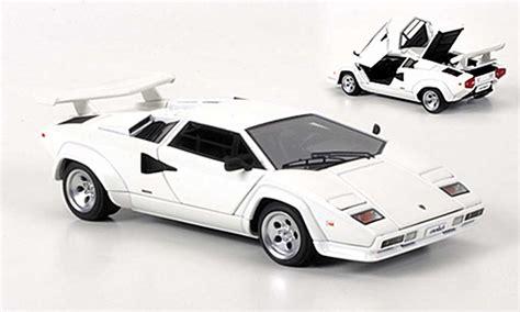 Auto Kaufen 5000 by Lamborghini Countach 5000 S Weiss Autoart Modellauto 1 43