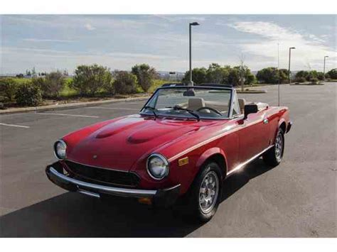 fiat spider 1981 classifieds for 1981 fiat spider 7 available