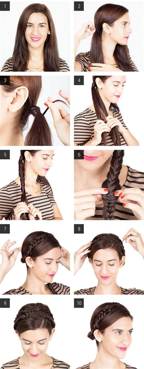 Easy Hairstyles For School To Do On Yourself by 9 Tutorial Per Acconciature Capelli Fai Da Te Per Ogni