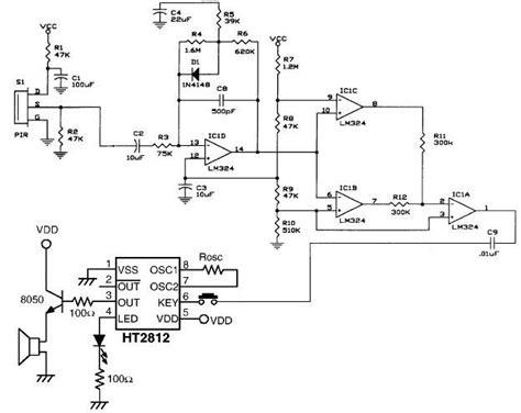 op help understanding pir lifier analog circuit