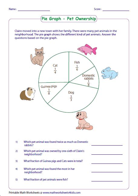 free printable circle graphs free worksheets 187 circle graph fractions free math