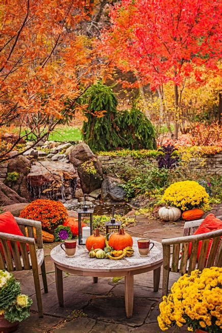 the garden of with the fall of garden tour autumn alfresco midwest living