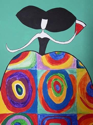 cuadros de kandinsky cuadro menina kandinsky bci1025