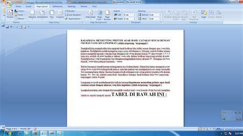 cara membuat salah satu halaman di word menjadi landscape cara mengatur page layout kertas menjadi portrait dan