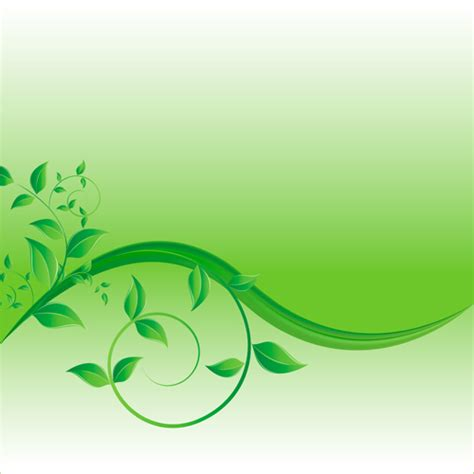 background design vector green green leaves wave creative background vector vector